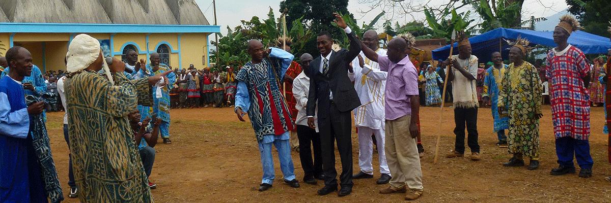 Cérémonie d'anoblissement de Kamga Olen Jean Pierre Mbeuh Kienshi