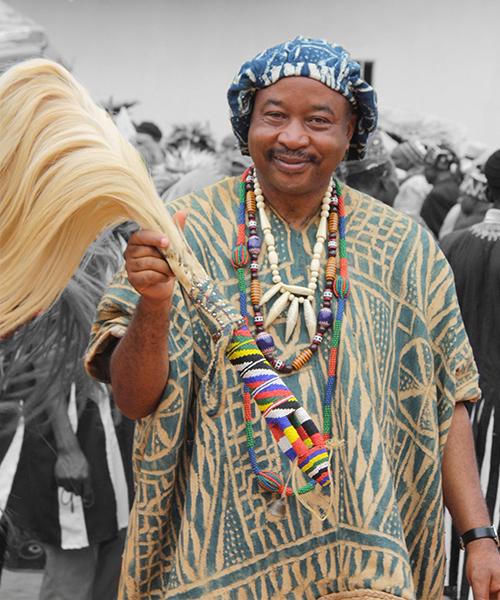 MIAFFO NGAMENI KAMGA Camille , frère du Chef