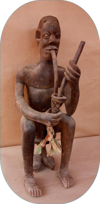 Statue représentant le Roi Fo Sélong