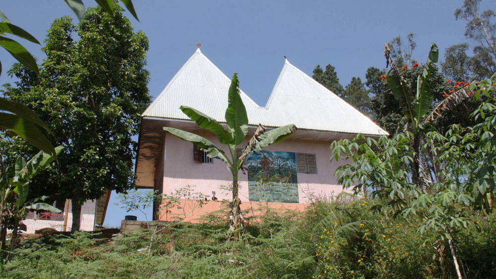 Maison moderne de Fondjomekwet